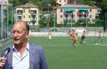 Campo da calcio Zoagli Croce Bianca Rapallese