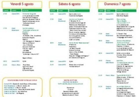 Elenco eventi del XVII Tigullio Expo16 Rapallo