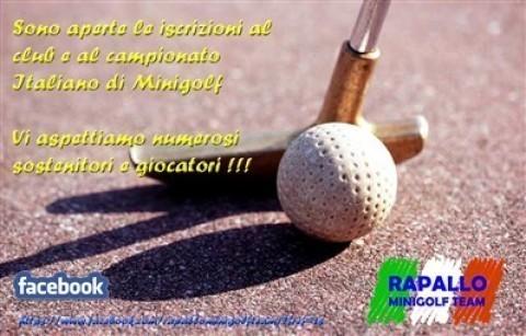 Rapallo Minigolf Team fotografie