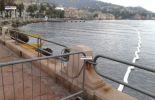 Rapallo Sversamento di gasolio fotografie
