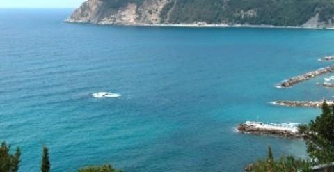 Relitto Liguria a Moneglia