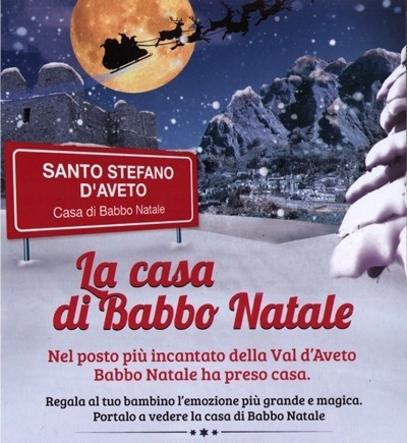 Casa di Babbo Natale 2015 a Santo Stefano daveto