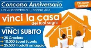 Concorso anniversario eurospin vinci la casa dei tuoi for Come realizzare la casa dei tuoi sogni