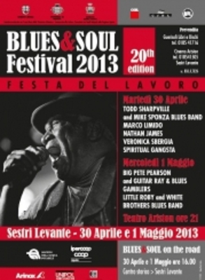 Festival 2013 Blues e Soul a Sestri Levante