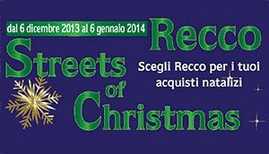 Natale 2013 a Recco con Streets of Christmas