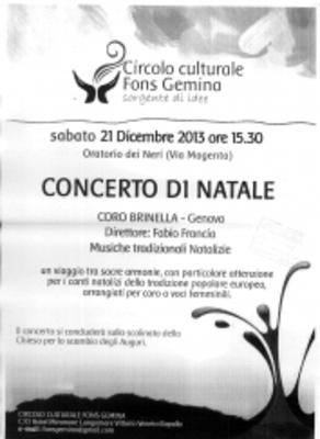 concerto di natale fon gemina a rapallo 2013