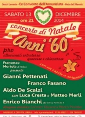 Foto Di Natale Anni 60.Concerto Di Natale Anni 60 A Sestri Levante Pro Alluvionati