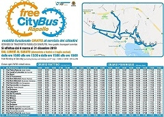 free bus rapallo gratis